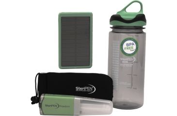 SteriPEN Freedom UV Water Purifier, Solar Bundle USB Rechargeable 107668