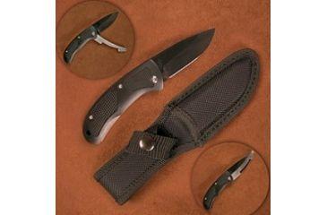 Stone River Gear Ceramic Hunting Knife w/ Retractable Blade Protector and Nylon Sheath SRG4RPB