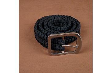Stone River Gear Paracord Survival Belt, Black, Medium SRG1SBMB