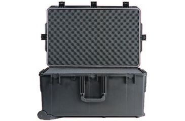 Pelican Storm Cases iM2975 - w/ wheels - No Foam - Cubed Foam - Padded Divider