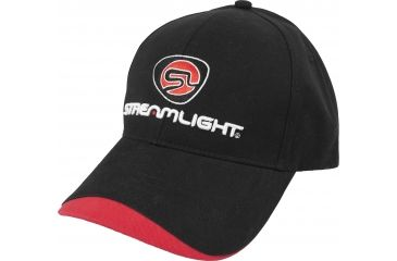 Streamlight Hat, Black w/ Red Wave - Tools Not Toys TG5505