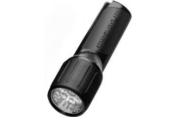 Streamlight 4AA Propolymer Luxeon Flashlight with White LEDs Black