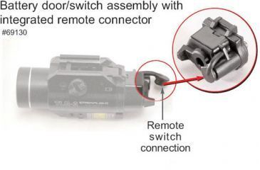 6-Streamlight TLR Battery Door / Switch Assembly