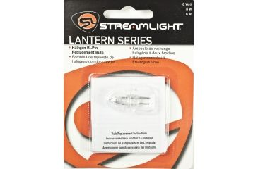 Streamlight 8 Watt Bi-Pin Bulb (100 Hr) (LiteBox, Vulcan, Fire Vulcan)