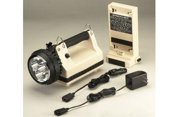 Streamlight E-Spot LiteBox Power Failure System with 120V AC-12V DC - Beige