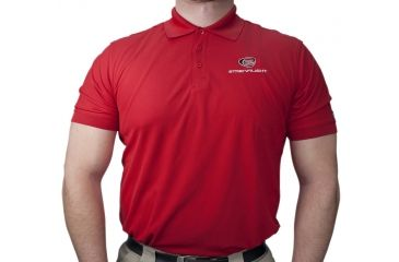 Streamlight Gear Ogio Mens Polo Red Large