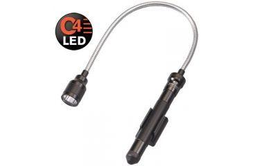 Streamlight Junior Luxeon Reach Black C4 LED Flashlight W/ Alkaline Batteries 71600