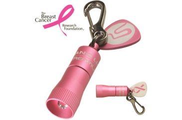 Streamlight Pink Nano Light with White LED Flashlight 73003