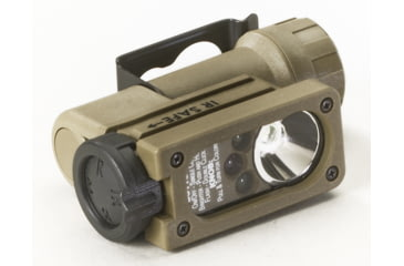 Streamlight Sidewinder Compact Tactical Flashlight, Coyote Tan - White, Red, Blue, IR LEDs - Coyote Tan 14104
