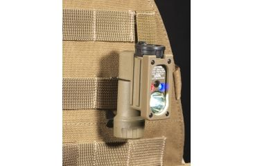 Streamlight Sidewinder - shown mounted on MOLLE webbing