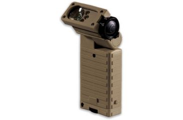 Streamlight Sidewinder Tactical Flashlight, Coyote Tan - C4 White, Red, Blue, Green LEDs 14002