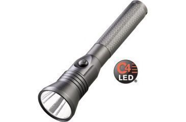 Streamlight Stinger DS LED HP Flashlight with 120V AC-12V DC Fast Charge PiggyBack