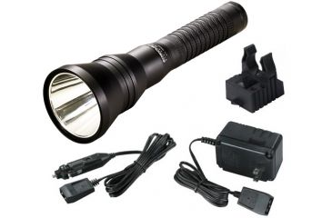 Streamlight Strion HP LED Flashlight with AC and DC Chargers + 1 Charging Sleeve