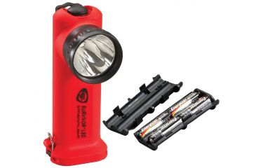 Streamlight Survivor-LED 90540 - orange w/ Alkaline Battery pack