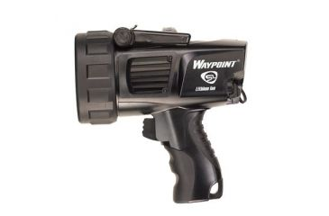 Streamlight Waypoint Rechargeable Pistol Grip Flashlight - 120V AC, Black 44911