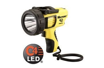 Streamlight Waypoint Rechargeable Flashlight - 120V AC, Yellow 44910