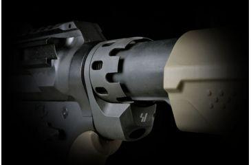 16-Strike Industries AR QD Enhanced Castle Nut and Extended End Plate