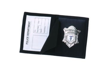 Strong Leather Company Ballistic Badge Case-oval - 71000-0152