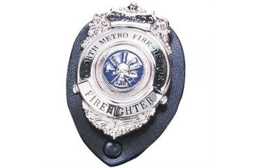 Strong Leather Company Clip-on Badge Rnd - 71210-0682