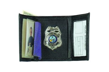 Strong Leather Company Dress Tri-fold Police Wallet - 89800-0182