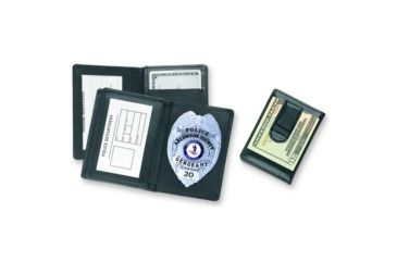 Strong Leather Company Side Open Badge Case W/cc Slot - 70750-2832