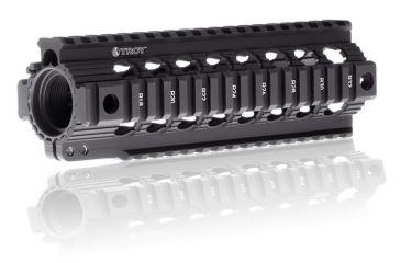 Troy 7.6in TRX Standard M7 Battle Rail - Black STRX-STA-C7BT-00