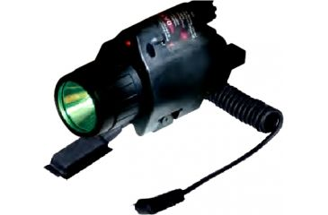 Sun Optics Laser Sight with 3W Led Light 250 Lumens Green/5mw Laser CLF-GR