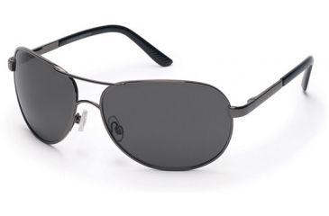 Suncloud Aviator Sunglasses, Gunmetal Frame, Gray Polarized Polycarbonate Lens S-AVPPGYGM