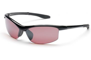 Suncloud Diversion Sunglasses, Black Frame, Rose Polarized Polycarbonate Lens S-DVPPRSBK