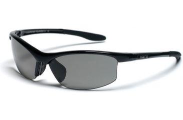 Suncloud Diversion Sunglasses, Black Frame, Gray Polarized Polycarbonate Lens S-DVPPGYBK