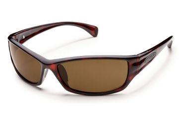 5899f7061aa Suncloud Hook Sunglasses Havana Frame Brown Polarized Polycarbonate Lens  S-HKPPBRHV