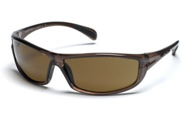 Suncloud King Sunglasses, Brown Frame, Brown Polarized Polycarbonate Lens S-KNPPBRBR