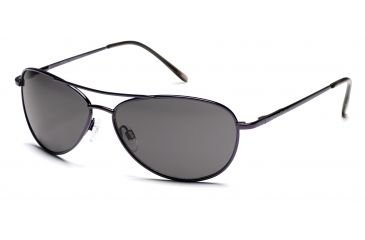 Suncloud Patrol Sunglasses with Blackberry Frames, Gray Lenses