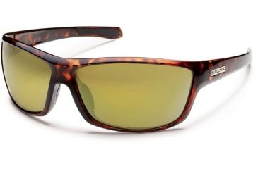 Suncloud Polarized Optics Conductor (New) Sunglasses - Tortoise Frame, Golden Mirror Polarized Polycarbonate Lenses S-CDPPNMTT