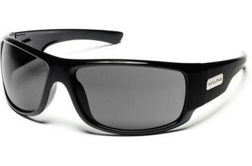Suncloud Polarized Optics Impulse Sunglasses - Black Frame, Gray Polarized Polycarbonate Lenses S-IMPPGYBK