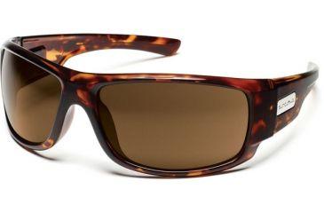 Suncloud Polarized Optics Impulse Sunglasses - Tortoise Frame, Brown Polarized Polycarbonate Lenses S-IMPPBRTT