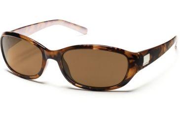 9f77aee723 Suncloud Polarized Optics Iris Sunglasses - Tortoise Backpaint Frame