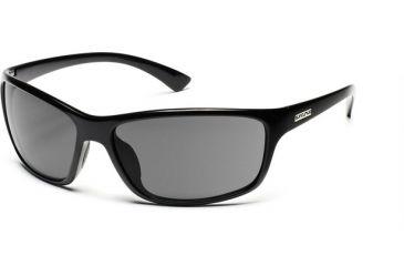 Suncloud Polarized Optics Sentry Sunglasses - Black Frame, Gray Polarized Polycarbonate Lenses S-SEPPGYBK