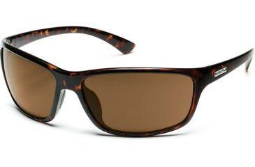 Suncloud Polarized Optics Sentry Sunglasses - Tortoise Frame, Brown Polarized Polycarbonate Lenses S-SEPPBRTT