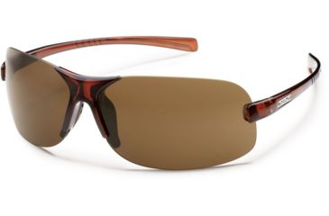 Suncloud Polarized Optics Ticket (New) Sunglasses - Brown Frame, Brown Polarized Polycarbonate Lenses S-TKPPBRBR