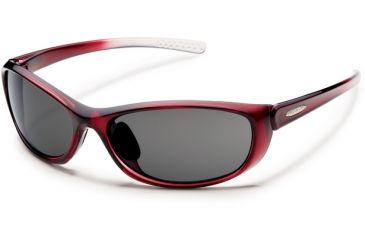 Suncloud Polarized Optics Wisp (New) Sunglasses - Wine Frame, Gray Polarized Polycarbonate Lenses S-WSPPGYWN