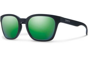 72d7d1a01a0 Suncloud Polarized Optics Founder Slim Sunglasses-Matte Black-Green Sol-X  Mirror