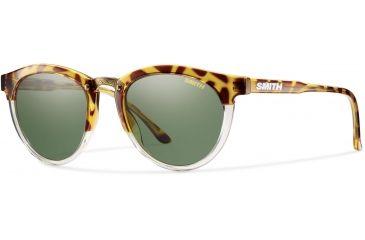 44f1b2b698 Suncloud Polarized Optics Questa Sunglasses - Women s-Amber Tortoise- Polarized Gray Green
