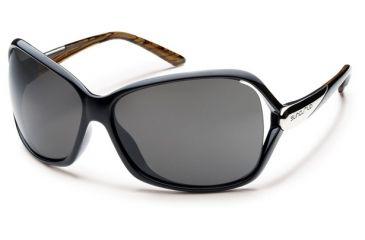 Suncloud Polarized Optics Symphony Sunglasses - Black Backpaint Frame, Gray Polarized Polycarbonate Lenses S-SYPPGYBK
