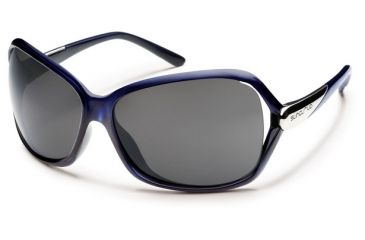Suncloud Polarized Optics Symphony Sunglasses - Purple Backpaint Frame, Gray Polarized Polycarbonate Lenses S-SYPPGYPR