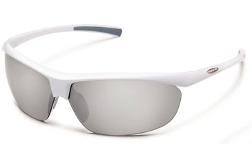 397c14c72ef88 Suncloud Polarized Optics Zephyr Sunglasses-White-Silver Mirror