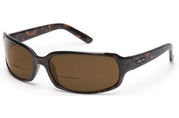 Suncloud Uptown Sunglasses, Tortoise Frame, Brown Polarized Reader Lens