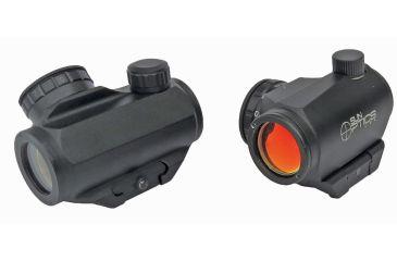 Sun Optics Red Micro Sight Red Dot 3 Moa, Red/Green Ret CD13-RD003A