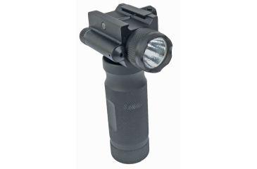 Sun Optics Tactical Fore End Grip w/250 Lumen/Green. Laser CVFG