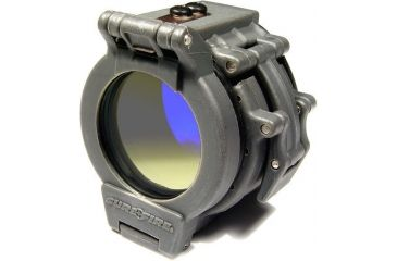 Surefire Blue Flip-up Clamp-on Beamshaper Filter For 1.36'' Bezel FM46
